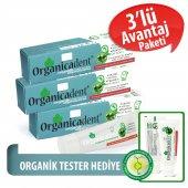 Organicadent Florürsüz Organik Diş Macunu 50 Ml X3 T