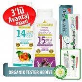 Organicadent Florürsüz Doğal Diş Macunu 75 Ml 14+1...
