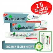 Organicadent Florürsüz Doğal Diş Macunu 75 Ml X2...