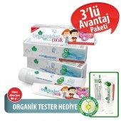 Organicadent Florürsüz Doğal Çocuk Diş Macunu 50ml + Organik 50ml x2 B