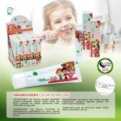 Organicadent Florürsüz Doğal Çocuk Diş Macunu 50 ml Ugreen Baby 4lü Temizlik Seti Hediye-3