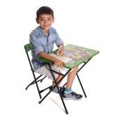 Ben10 Ben Ten Çalışma Masa Sandalye Seti