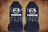 Mazda Siyah Renk Ön Koltuk Penye Kılıf 1 Sticker Hediye