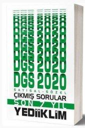 2020 DGS Sayısal Sözel Bölüm Son 7 Yıl Çıkmış Sorular Yediiklim Y