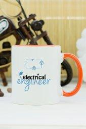 Electrical Engineer Kupa Bardak Turuncu