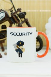 Security Kupa Bardak Turuncu