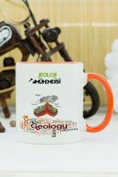Jeoloji Mühendisi Kupa Bardak Turuncu