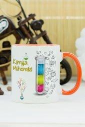 Kimya Mühendisi Kupa Bardak Turuncu