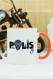 Polis Kupa Bardak Turuncu