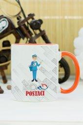 Postacı Kupa Bardak Turuncu