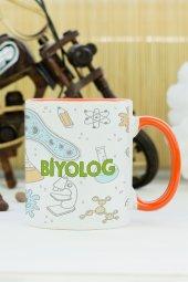 Biyolog Kupa Bardak Turuncu