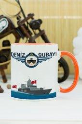 Deniz Subayı Kupa Bardak Turuncu