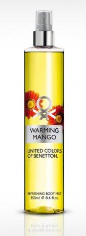 Benetton Warming Mango Refreshing Body Mist 250 Ml...
