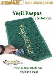 Yeşil Renk 40x60 Paspas Kapı Önü Altı Kapalı...