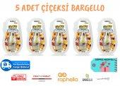 Bargello Araç Parfümü 5 Adet Çiçeksi 8 Ml Oto Parfüm Oto Kokusu Ücretsiz Kargo