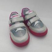 Pembe Beyaz Gri Karışımlı Bebek Ayakkabısı Spor Mo...