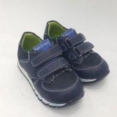 Lacivert Cırtlı Spor Bebek Ayakkabısı Cırtlı Model...