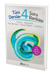 4.sınıf Tüm Dersler Soru Bankası Bilgi Küpü...