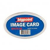 Bigpoint Akrilik İsimlik Oval Şeffaf
