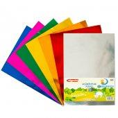 Bigpoint Alüminyum Folyo A4 Karışık 10 Renk 85 Gram
