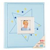 Bigpoint Geçmeli Albüm 13x18cm 200lü Baby Mavi