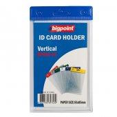 Bigpoint Kart Poşeti Dikey Mavi 55x85mm