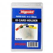 Bigpoint Kart Poşeti Dikey Şeffaf 91x128mm