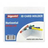 Bigpoint Kart Poşeti Yatay Şeffaf 105x74mm