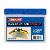 Bigpoint Kart Poşeti Yatay Mavi 85x55mm