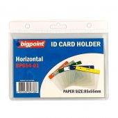 Bigpoint Kart Poşeti Yatay Beyaz 85x55mm