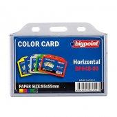 Bigpoint Kart Poşeti Yatay 85x55mm