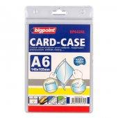 Bigpoint Kilitli Kart Poşeti Dikey A6 (105x148mm)