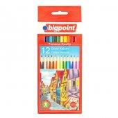 Bigpoint Kuru Boya Kalemi 12 Renk