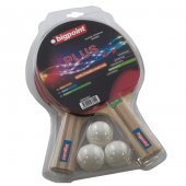 Bigpoint Masa Tenisi Raket Seti (2 Raket+file+3 Top) 2*