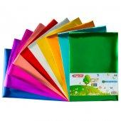Bigpoint Metalik(Aynalı) Kağıt A4 Karışık 10 Renk 80 Gram