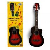 2076 Sun Rst Ech Gitar Akustik Gerçek Telli Byk 6...