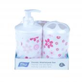 Titiz Katı Sıvı Sabunluk Ve Diş Fırçalık Set