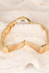 WatchArt Gold Renk Metal Kordonlu Kadın Kol Saati-2