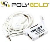 Polygold Pg 125 Yaka Mikrofon + 3 X Usb Çoklayıcı...