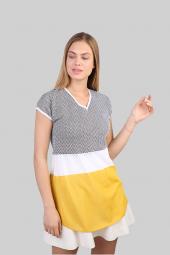Sweater V Yaka Kadın Yazlık Bluz 3061