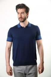 Filippo Ghada Polo Yaka Erkek Pamuklu Triko T Shirt 3718