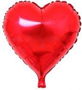 Kalp Folyo Kırmızı Balon 40 Cm