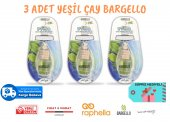 Bargello Araç Parfümü 3 Adet Yeşil Çay Fresh 8 Ml Oto Parfüm Oto Kokusu