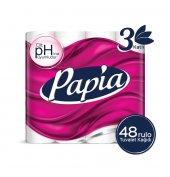 Papia Tuvalet Kağıdı 48 Rulo