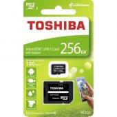 Toshiba 256gb Micro Sdxc Uhs 1 C10 Thn M203k2560ea 100mb Sn, Exc
