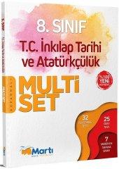 Martı Yayınları 8. Sınıf T.c. İnkılap Tarihi Ve Atatürkçülük Koparmalı Multi Set