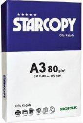 Mopak Star Copy A3 Fotokopi Kağıdı 80 Gr. 500 Lü Paket Starcopy
