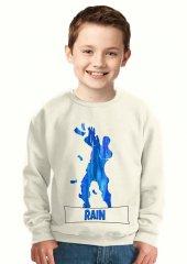 Tshirthane Rain Dance Fortnite Blue Çocuk...