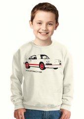 Tshirthane Porsche Çocuk Sweatshirt