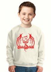 Tshirthane Blind Guardian Logo Çocuk Sweatshirt